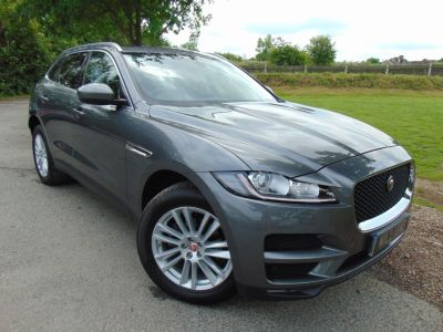 Jaguar F-pace 2.0d Portfolio 5dr Auto AWD (Pan Roof! Privacy Glass! ++) Estate Diesel Ammorite Grey MetallicJaguar F-pace 2.0d Portfolio 5dr Auto AWD (Pan Roof! Privacy Glass! ++) Estate Diesel Ammorite Grey Metallic at Williams Group Maidstone