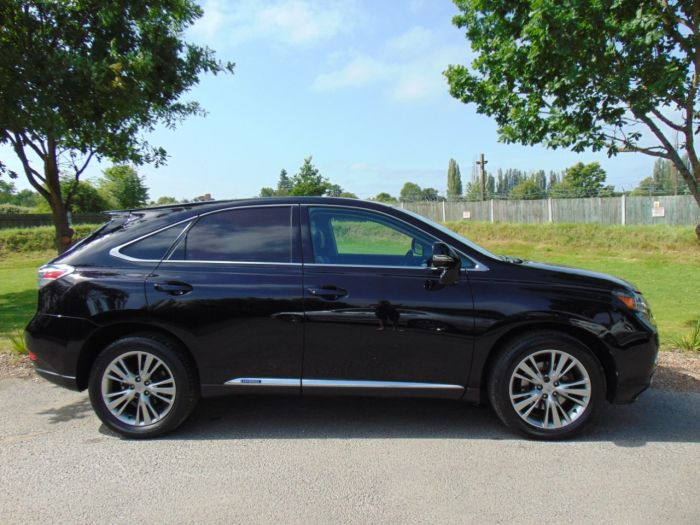 Lexus RX 450h 3.5 Advance 5dr CVT Auto [Pan roof] (Rear Cam! Keyless! +++) Estate Petrol / Electric Hybrid Obsidian Black Metallic