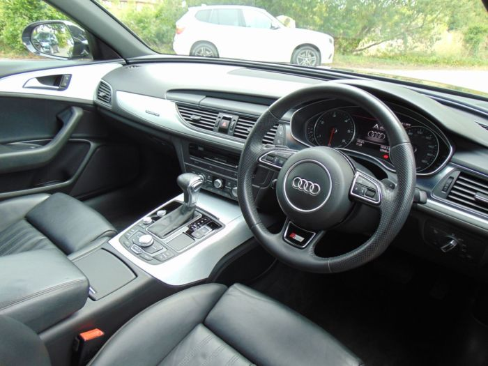 Audi A6 3.0 TDI Quattro S Line 4dr S Tronic (Tech Pack! Heated Seats! +++) Saloon Diesel Phantom Black Pearl