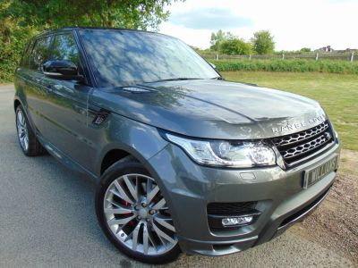 Land Rover Range Rover Sport 5.0 V8 S/C Autobiography Dynamic 5dr Auto (Rear Entertainment! 22in Alloys! +) Estate Petrol Corris Grey MetallicLand Rover Range Rover Sport 5.0 V8 S/C Autobiography Dynamic 5dr Auto (Rear Entertainment! 22in Alloys! +) Estate Petrol Corris Grey Metallic at Williams Group Maidstone