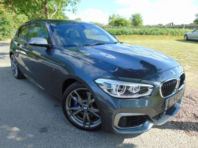 BMW 1 Series 3.0 M140i 3dr [Nav] Step Auto (Harman Kardon! Privacy Glass ! ++) Hatchback Petrol Mineral Grey MetallicBMW 1 Series 3.0 M140i 3dr [Nav] Step Auto (Harman Kardon! Privacy Glass ! ++) Hatchback Petrol Mineral Grey Metallic at Williams Group Maidstone