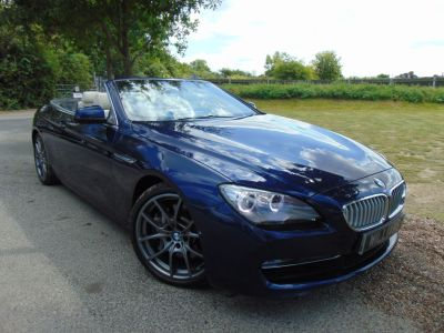 BMW 6 Series 4.4 650i SE 2dr Auto (Comfort Seats! 20in Alloys! ++) Convertible Petrol Deep Sea Blue MetallicBMW 6 Series 4.4 650i SE 2dr Auto (Comfort Seats! 20in Alloys! ++) Convertible Petrol Deep Sea Blue Metallic at Williams Group Maidstone
