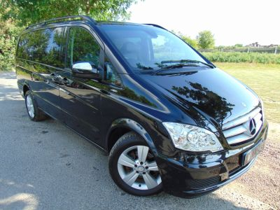 Mercedes-Benz Viano VIANO AMBIENTE 2.2 CDI BL (Electric Doors! Heated Seats! ++) MPV Diesel Obsidian Black MetallicMercedes-Benz Viano VIANO AMBIENTE 2.2 CDI BL (Electric Doors! Heated Seats! ++) MPV Diesel Obsidian Black Metallic at Williams Group Maidstone