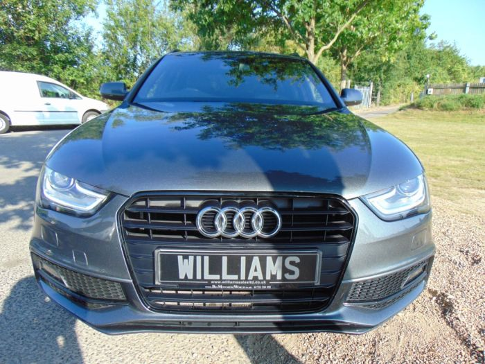 Audi A4 2.0 TDI 177 Black Edition 5dr Multitronic (Bang & Olufsen! 19in Alloys! ++) Estate Diesel Daytona Grey Pearl