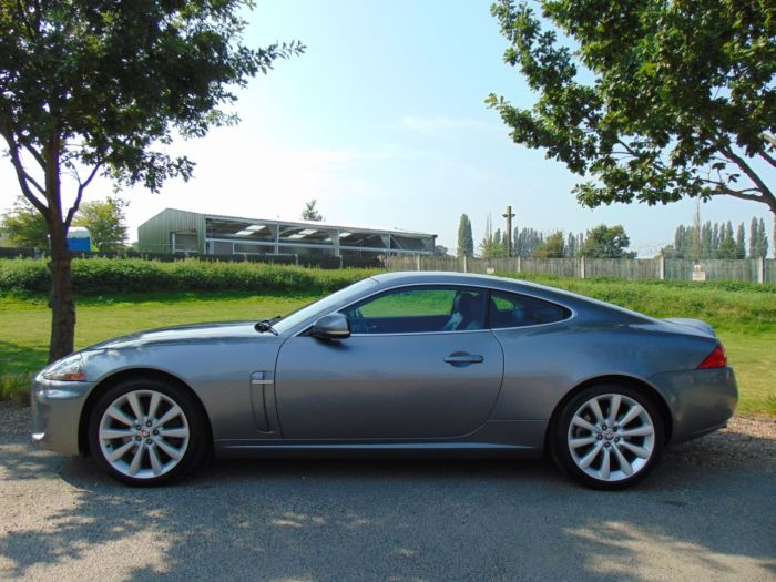 Jaguar XK 5.0 V8 2dr Auto (19in Alloys! Ivory Trim! ++) Coupe Petrol Lunar Grey