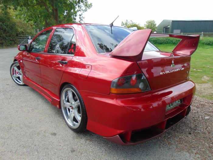 Mitsubishi Lancer Evolution Viii 2.0 4dr (Show Car! Stunning Example! ++) Saloon Petrol Kandy Red With Silver And Gold Basecoats