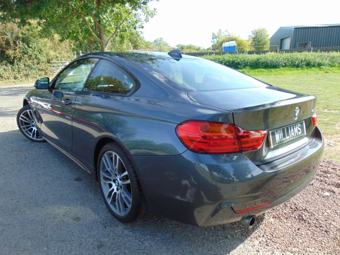 BMW 4 Series 2.0 420i M Sport 2dr (Pro Nav! Heated Seats! +++) Coupe Petrol Mineral Grey Metallic