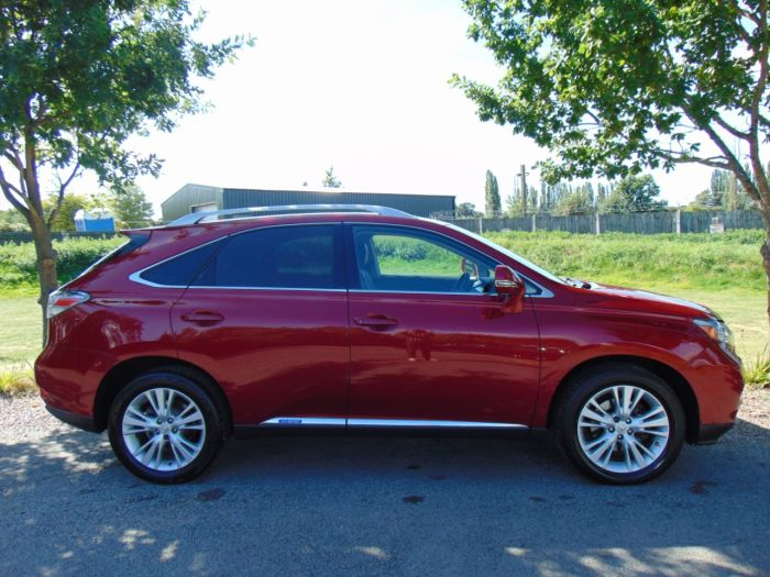 Lexus RX 450h 3.5 SE-I 5dr CVT Auto (Rear Camera! FSH! ++) Estate Petrol / Electric Hybrid Red
