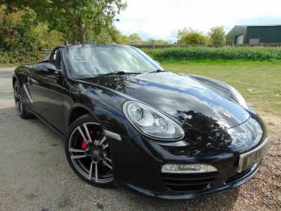 Porsche Boxster 3.4 S 2dr PDK (PDK! PCM! 19in Turbo II! +++) Convertible Petrol BlackPorsche Boxster 3.4 S 2dr PDK (PDK! PCM! 19in Turbo II! +++) Convertible Petrol Black at Williams Group Maidstone