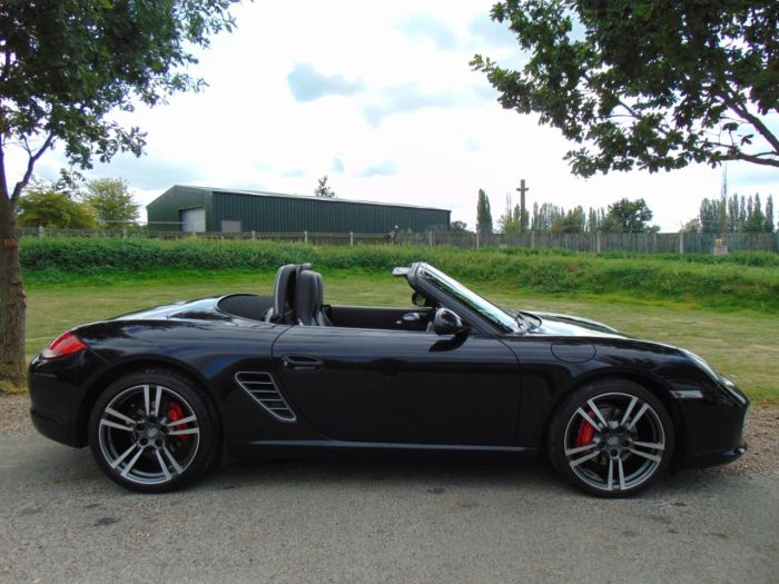 Porsche Boxster 3.4 S 2dr PDK (PDK! PCM! 19in Turbo II! +++) Convertible Petrol Black