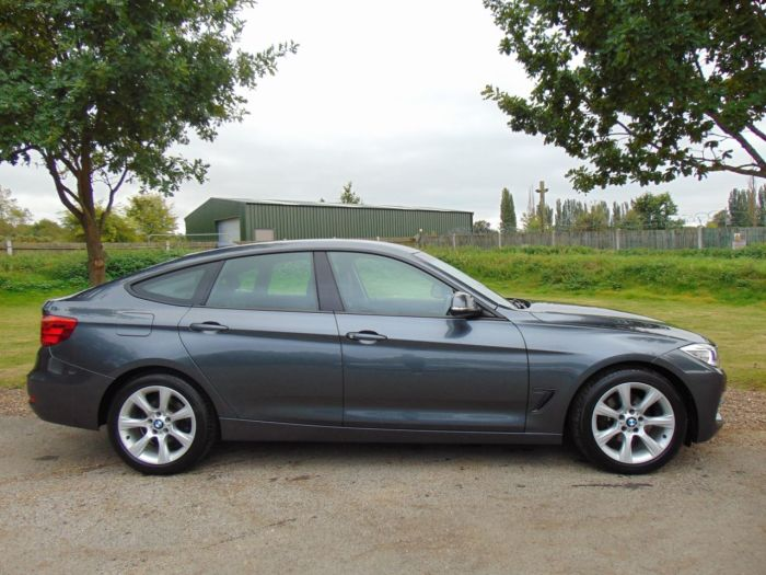 BMW 3 Series 2.0 320d SE 5dr (Leather! Xenons! Bluetooth! ++) Hatchback Diesel Mineral Grey Metallic