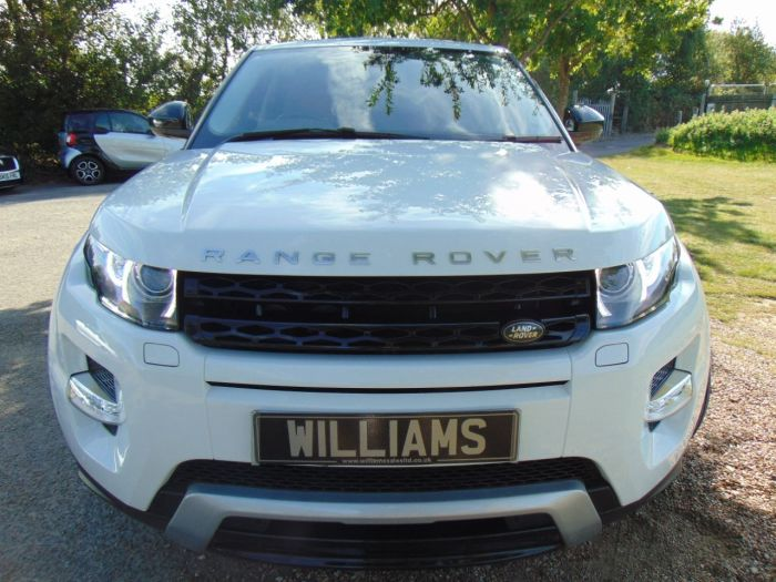Land Rover Range Rover Evoque 2.2 SD4 Dynamic 5dr Auto [9] (Rear Entertainment! FLRSH! +++) Estate Diesel Fuji White