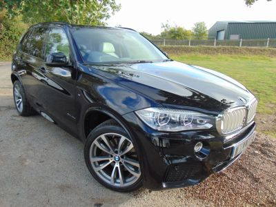 BMW X5 3.0 xDrive40d M Sport 5dr Auto [7 Seat] (Over £18,000 Options! LEDs! ++) Estate Diesel Azurite Black IndividualBMW X5 3.0 xDrive40d M Sport 5dr Auto [7 Seat] (Over £18,000 Options! LEDs! ++) Estate Diesel Azurite Black Individual at Williams Group Maidstone