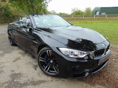 BMW M4 3.0 M4 2dr DCT (LED Headlights! Heads-Up! ++) Convertible Petrol Sapphire Black MetallicBMW M4 3.0 M4 2dr DCT (LED Headlights! Heads-Up! ++) Convertible Petrol Sapphire Black Metallic at Williams Group Maidstone