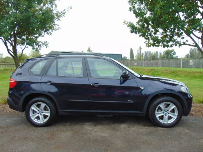 BMW X5 3.0sd SE 5dr Auto [7 Seat] (1 Owner! Pan Roof! Full BMW SH! £12000 Options!) Estate Diesel Monaco Blue