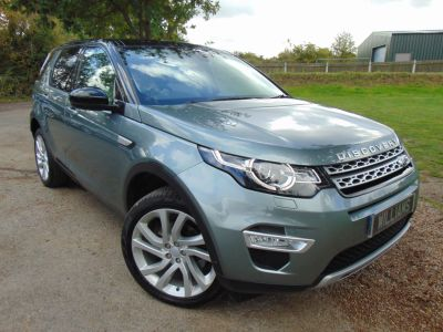 Land Rover Discovery Sport 2.2 SD4 HSE Luxury 5dr Auto (20in Alloys! Full Land Rover SH! ++) Estate Diesel Scotia Grey MetallicLand Rover Discovery Sport 2.2 SD4 HSE Luxury 5dr Auto (20in Alloys! Full Land Rover SH! ++) Estate Diesel Scotia Grey Metallic at Williams Group Maidstone