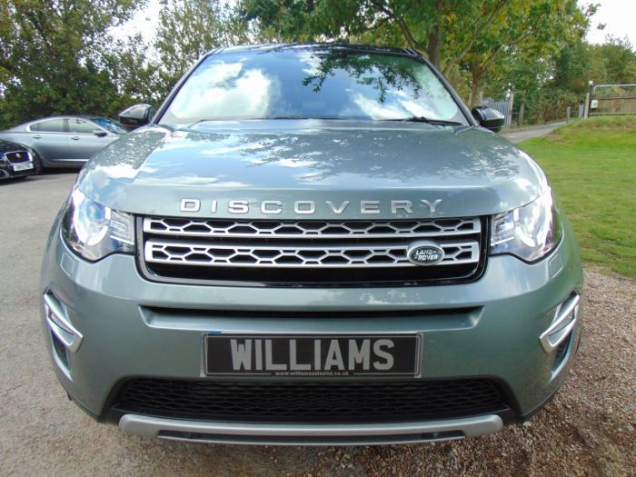 Land Rover Discovery Sport 2.2 SD4 HSE Luxury 5dr Auto (20in Alloys! Full Land Rover SH! ++) Estate Diesel Scotia Grey Metallic