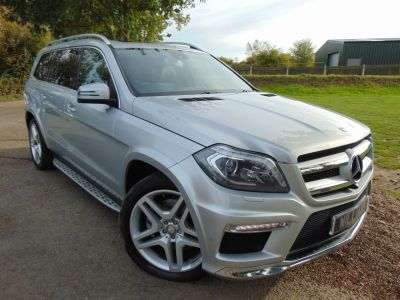 Mercedes-Benz GL Class 3.0 GL350 BlueTEC AMG Sport 5dr Tip Auto (Easy Entry! Harman Kardon! ++) Estate Diesel SilverMercedes-Benz GL Class 3.0 GL350 BlueTEC AMG Sport 5dr Tip Auto (Easy Entry! Harman Kardon! ++) Estate Diesel Silver at Williams Group Maidstone