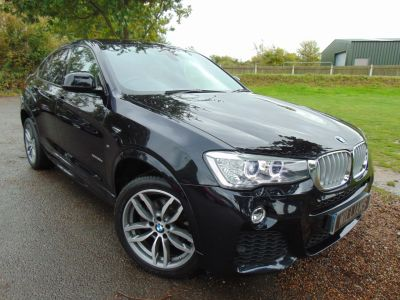 BMW X4 3.0 xDrive30d M Sport 5dr Step Auto (Privacy Glass! 1 Owner! ++) Coupe Diesel Carbon Black MetallicBMW X4 3.0 xDrive30d M Sport 5dr Step Auto (Privacy Glass! 1 Owner! ++) Coupe Diesel Carbon Black Metallic at Williams Group Maidstone