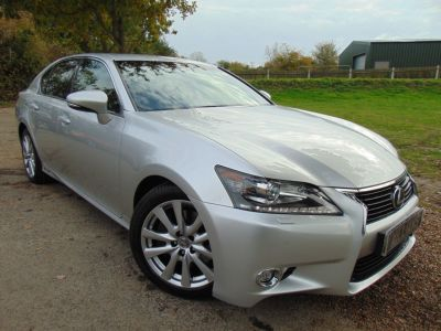 Lexus GS 300h 2.5 Premier 4dr CVT (Heads-Up! Keyless! Nav! ++) Saloon Petrol / Electric Hybrid Liquid Platinum Silver MetallicLexus GS 300h 2.5 Premier 4dr CVT (Heads-Up! Keyless! Nav! ++) Saloon Petrol / Electric Hybrid Liquid Platinum Silver Metallic at Williams Group Maidstone