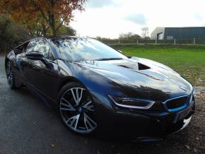 BMW I8 1.5 7.1kWh Auto 4WD (s/s) 2dr Auto (20in Alloys! 1 Owner! +++) Coupe Petrol / Electric Hybrid Sophisto Grey Metallic at Williams Group Ltd Maidstone