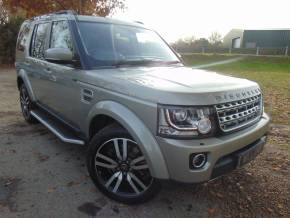 Land Rover Discovery 3.0 SDV6 HSE Luxury 5dr Auto (2oin Alloys! Full L/Rover SH! +) Estate Diesel Ipanema Sand Gold Metallic at Williams Group Ltd Maidstone