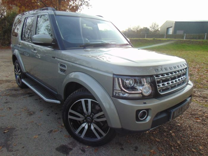 Land Rover Discovery 3.0 SDV6 HSE Luxury 5dr Auto (2oin Alloys! Full L/Rover SH! +) Estate Diesel Ipanema Sand Gold Metallic