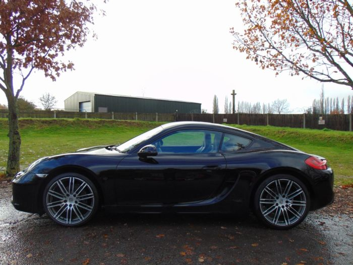 Porsche Cayman 2.7 2dr PDK (20in Alloys! Heated Seats! +++) Coupe Petrol Black Gloss