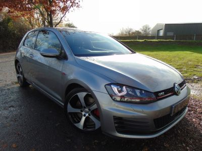 Volkswagen Golf 2.0 TSI GTI 3dr DSG (Dynaudio! Performance Pack! +) Hatchback Petrol Tungsten Silver MetallicVolkswagen Golf 2.0 TSI GTI 3dr DSG (Dynaudio! Performance Pack! +) Hatchback Petrol Tungsten Silver Metallic at Williams Group Maidstone