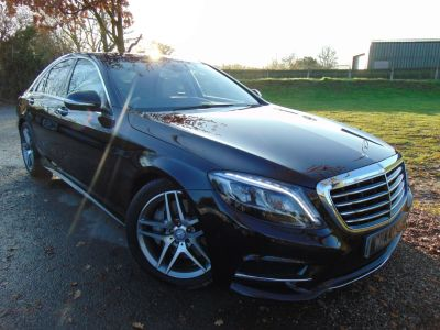 Mercedes-Benz S Class 3.0 S350 BlueTEC AMG Line 4dr Auto (19iN Alloys! Pan Roof! +++) Saloon Diesel Ruby Black MetallicMercedes-Benz S Class 3.0 S350 BlueTEC AMG Line 4dr Auto (19iN Alloys! Pan Roof! +++) Saloon Diesel Ruby Black Metallic at Williams Group Maidstone
