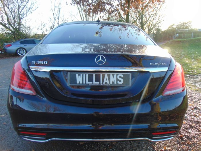 Mercedes-Benz S Class 3.0 S350 BlueTEC AMG Line 4dr Auto (19iN Alloys! Pan Roof! +++) Saloon Diesel Ruby Black Metallic