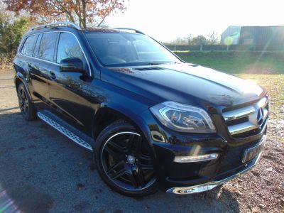 Mercedes-Benz GL Class 3.0 GL350 BlueTEC AMG Sport 5dr Tip Auto (Pan Roof! Parking Pack! ++) Estate Diesel Obsidian Black MetallicMercedes-Benz GL Class 3.0 GL350 BlueTEC AMG Sport 5dr Tip Auto (Pan Roof! Parking Pack! ++) Estate Diesel Obsidian Black Metallic at Williams Group Maidstone