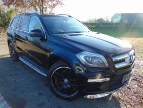 Mercedes-Benz GL Class 3.0 GL350 BlueTEC AMG Sport 5dr Tip Auto (Pan Roof! Parking Pack! ++) Estate Diesel Obsidian Black Metallic at Williams Group Ltd Maidstone