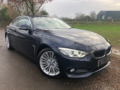 BMW 4 Series 2.0 428i Luxury 2dr [Professional Media] (Sunroof! Driving Assistant! ++) Coupe Petrol Imperial Blue XirallicBMW 4 Series 2.0 428i Luxury 2dr [Professional Media] (Sunroof! Driving Assistant! ++) Coupe Petrol Imperial Blue Xirallic at Williams Group Maidstone