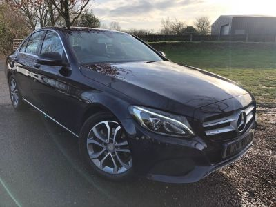 Mercedes-Benz C Class 2.0 C200 Sport Premium 4dr Auto (Pan Roof! Full SH! +++) Saloon Petrol Cavansite Blue MetallicMercedes-Benz C Class 2.0 C200 Sport Premium 4dr Auto (Pan Roof! Full SH! +++) Saloon Petrol Cavansite Blue Metallic at Williams Group Maidstone