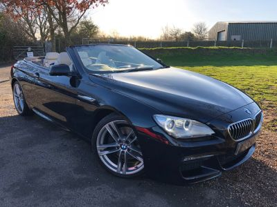 BMW 6 Series 3.0 640d M Sport 2dr (20in Alloys! Comfort Access! +) Convertible Diesel Carbon Black MetallicBMW 6 Series 3.0 640d M Sport 2dr (20in Alloys! Comfort Access! +) Convertible Diesel Carbon Black Metallic at Williams Group Maidstone