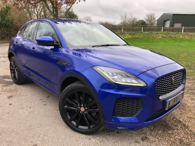 Jaguar E-pace 2.0d [180] R-Dynamic SE 5dr Auto (20in Alloys! pan Roof! Meridian! +) Estate Diesel Caesium Blue MetallicJaguar E-pace 2.0d [180] R-Dynamic SE 5dr Auto (20in Alloys! pan Roof! Meridian! +) Estate Diesel Caesium Blue Metallic at Williams Group Maidstone