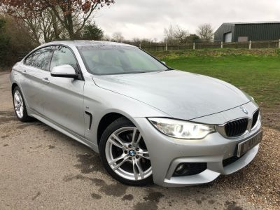 BMW 4 Series 2.0 420d M Sport 5dr Auto (Heated Seats! 18in Alloys! +++) Coupe Diesel Glacier Silver MetallicBMW 4 Series 2.0 420d M Sport 5dr Auto (Heated Seats! 18in Alloys! +++) Coupe Diesel Glacier Silver Metallic at Williams Group Maidstone