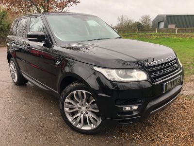 Land Rover Range Rover Sport 3.0 SDV6 [306] HSE Dynamic 5dr Auto (1 Owner! Pan Roof! 21in Alloys! +) Estate Diesel Santorini Black MetallicLand Rover Range Rover Sport 3.0 SDV6 [306] HSE Dynamic 5dr Auto (1 Owner! Pan Roof! 21in Alloys! +) Estate Diesel Santorini Black Metallic at Williams Group Maidstone