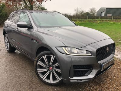 Jaguar F-pace 2.0d R-Sport 5dr Auto AWD (22in Alloys! Pan Roof! ++) Estate Diesel Corris GreyJaguar F-pace 2.0d R-Sport 5dr Auto AWD (22in Alloys! Pan Roof! ++) Estate Diesel Corris Grey at Williams Group Maidstone